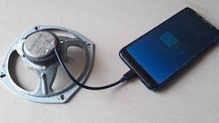 Free Energy Generator with Using Speaker Magnet