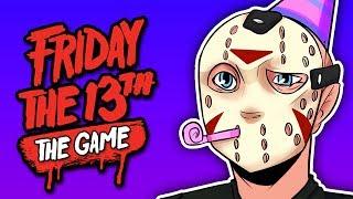 HAPPY BIRTHDAY!!! | Friday The 13th: The Game (Spring Break - Swimsuit & Bikini DLC)