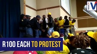 Mineral Resources Minister cancels Mining Imbizo after it degenerates into a shoving match