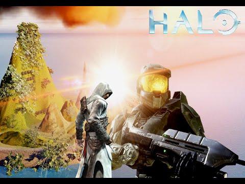Master Chief conoce a Altair -Halo Amimation- -POPO MOLIDO-