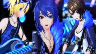 【Project DIVA X】 Cool Medley ~Cyber Rock Jam~ (Kaito/Meiko/Len)