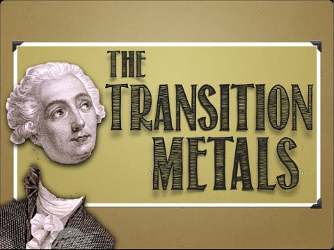 Periodic Table: The Transition Metals