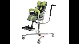 Sistema di seduta posturale Ursus con base per interni - 4 in 1
