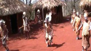 Kikuyu Tribal Dance - Aberdares National Park, Kenya