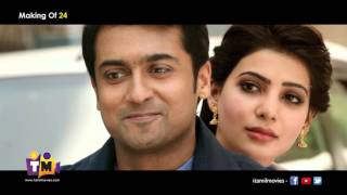 24 Movie Making Video | Suriya, Samantha | A.R. Rahman