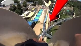 Top 10 MOST INSANE Waterslides & Water Parks YOU WONT BELIEVE EXIST!