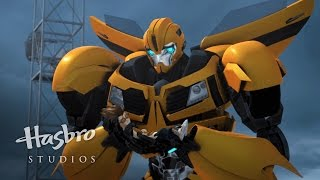 Transformers Prime - I Swatted a Bee and Squashed a Bug