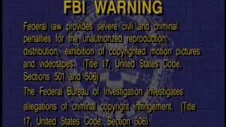 FBI Interpol Warning (1996-2003)