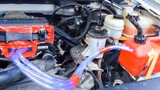 2004 Ford F150 running off gasoline vapors - 100 miles to the gallon