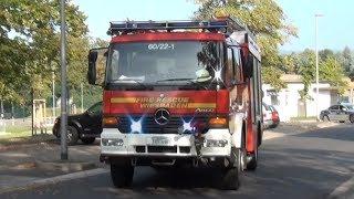 ZFuStW Military Police + ELW (60/11) + GW-G (60/55) + LF (60/22-1) Fire Rescue Wiesbaden