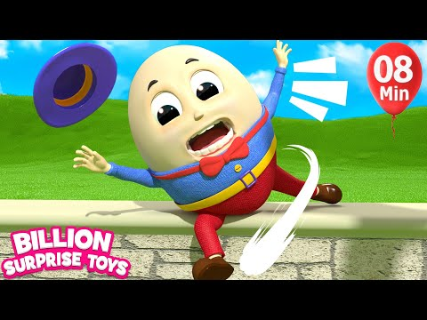 Humpty Dumpty playing with Kids Song BST Songs
