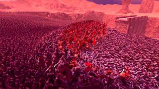 Ultimate Epic Battle Simulator 300 Spartans vs 20,000 Persian with animation upgrade!