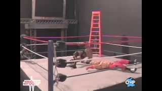 The Rock vs. Shawn Michaels (Stop-Motion) - JWF Ladder Match (May 2012)