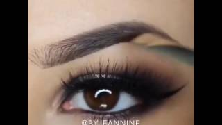 How to make up Great eye brows
