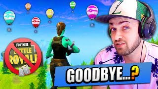 Is this the END... of FORTNITE: Battle Royale...?