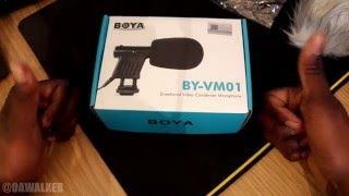 Boya Directional Video Condenser Microphone (BY-VM01) (Cannon)