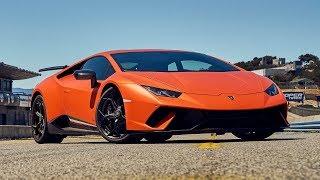 Best Driver's Car Contender: 2018 Lamborghini Huracán Performante