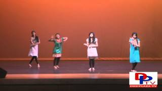 Telugu Dance by Pooja, Rasika,Saveena and Sanjana at Seva Chairty Talent Show by CRY 2012.