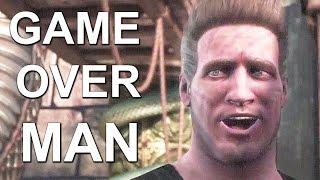 Mortal Kombat X Alien Game Over Man Easter Egg Johnny Cage Intro Funny