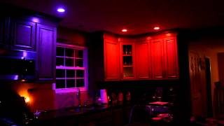 Philips Hue Bulbs in Kitchen