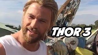 Thor Ragnarok Chris Hemsworth Thank You Teaser