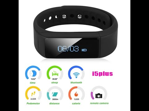 Unboxing + Review  Smartband I5 Plus