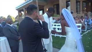 Gloria & David Wedding Day