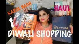 KAROL BAGH DIWALI SHOPPING HAUL | Affordable winter clothes  |TheLifeSheLoved| Sana K
