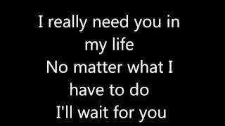 Elliott Yamin-Wait For You Lyrics