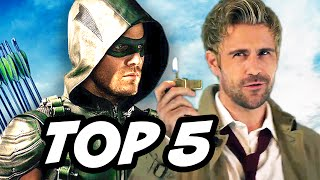 Arrow Season 4 Episode 20 - TOP 5 WTF and Easter Eggs