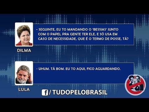 [COMPLETO] Escuta telefônica entre Dilma e Lula!!