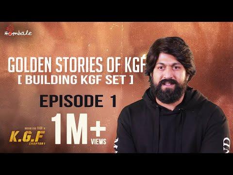 Xxx Mp4 Golden Stories Of KGF Episode 1 Building KGF Set Yash Srinidhi Shetty Prashanth Neel 3gp Sex