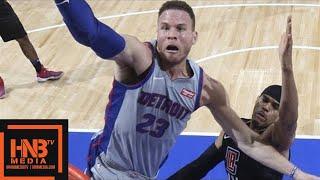 LA Clippers vs Detroit Pistons Full Game Highlights / Feb 9 / 2017-18 NBA Season