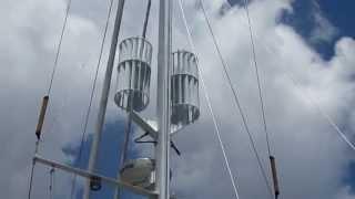 Mast-R Wind Power Turbine Installation