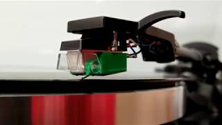 Monoprice Monolith Turntable with AT100E Cartridge Assembly Video