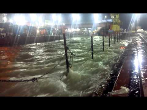 Haridwar Har Ki Pauri Ganga Ghat in Rain