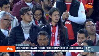 Jorge Perdomo, presidente de Dimayor, y su balance de la Liga Femenina Aguila