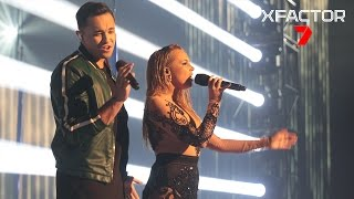 Cyrus and Samantha Jade's performance of 'Hurt Anymore' - The X Factor Australia 2016