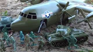Army Men: The C130 Attack (Thanks ARMY OF TOYS) | The General