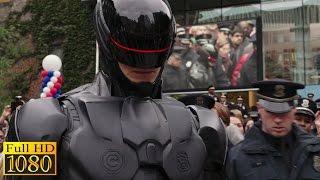 RoboCop (2014) - Police Headquarters Arrest scene (1080p) FULL HD