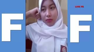 pelajar berjilbab cantik live di fb | siswi sekolah cantik dan imut berbagi video di facebook