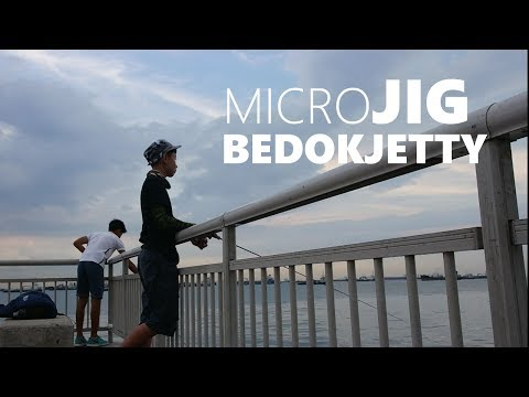 BEDOK JETTY FISHING(MICROJIG) | Facepalmfishing