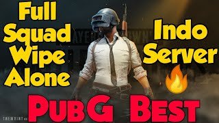 Full Squad Wipe Alone In Indo Server    Ridge Advantage    JankyRor Gaming