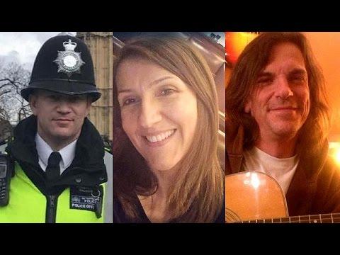 Atentado Londres una mujer y tres hombres muertos