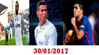 فوز ريال مدريد و تعادل برشلونة  - غضب كريستيانو من جماهير البرنابيو - يوفنتوس يبتعد في الصدارة