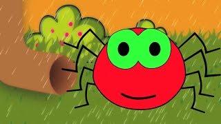 Incy Wincy Spider | Kinderzimmer reimt sich für Kinder | Kinder Gedichte | Kids Nursery Rhymes Songs