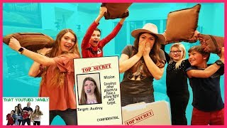 Gotcha Tag Secret Mission! Family Game Night / That YouTub3 Family I Family Channel