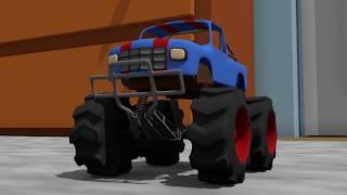 Small Monster Truck | Toy Car for Kids | Formation - Bajki Dla Dzieci | Zabawka Monster Truck