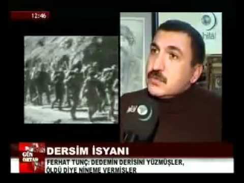 Ferhat Tunc Dersim Katliami