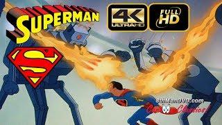 SUPERMAN CARTOON: The Mechanical Monsters (1941) (Remastered) [ULTRA HD 4K Cartoons]
